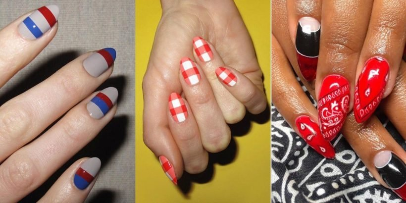 Fourth Of July Nail Art Ideas You Can Wear Through Labor Day Hot
