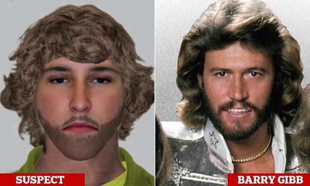 Barry Gibb when he was young