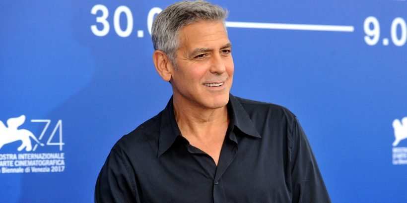 George Clooney Jokes About Scooter Accident on Set - Hot