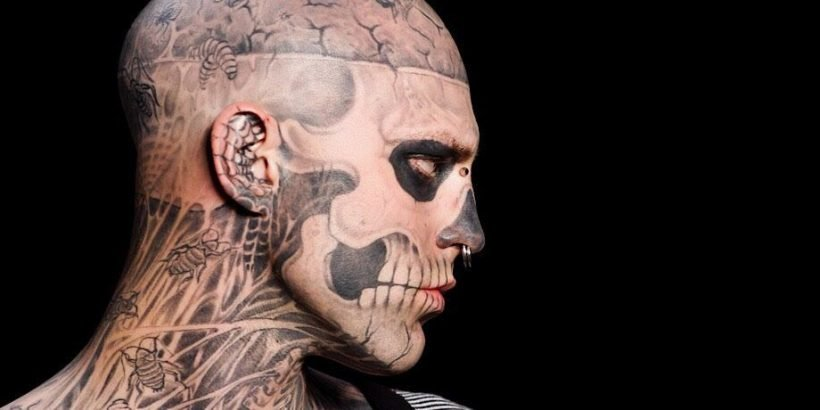 Heavily-Tattooed Model Zombie Boy, From Lady Gaga's 'Born