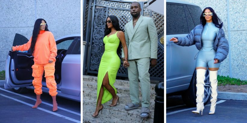 pretty nice 95667 5417f 20 Outfits That Kanye Clearly Told Kim Kardashian To Wear ...