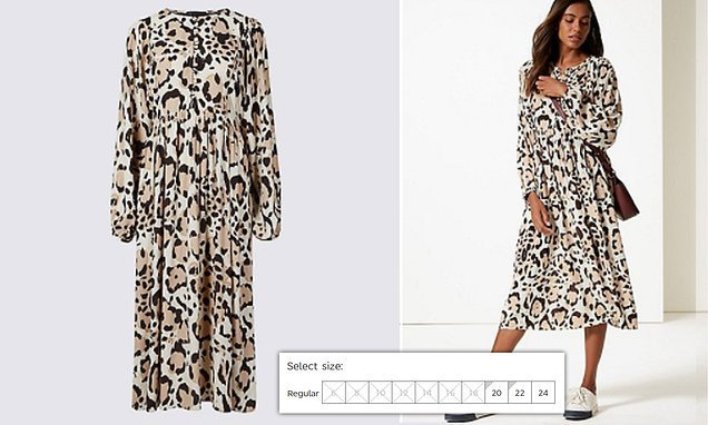 dcffc80ee58 Shoppers go wild over M&S leopard print dress which KEEPS selling ...