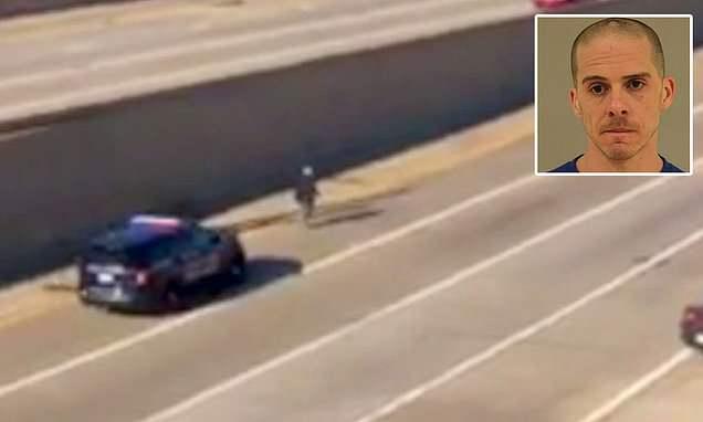 Police chase ends when Michigan cop runs down murder suspect - Hot