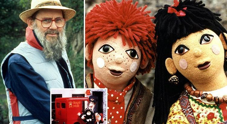 Heartbroken Brits pay tribute to Postman Pat and Rosie and ...