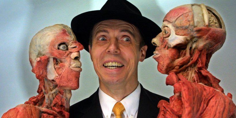 Autopsy gunther von hagens naked model male