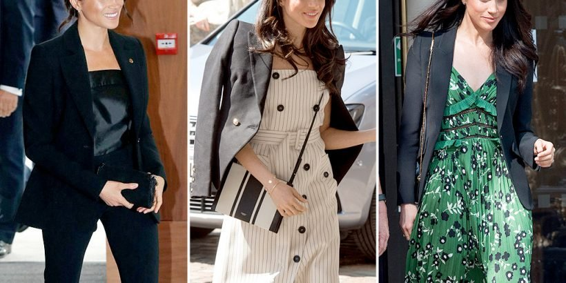 de1444255f5f Get the Look: Meghan Markle-Inspired Blazers to Shop at Every Budget ...