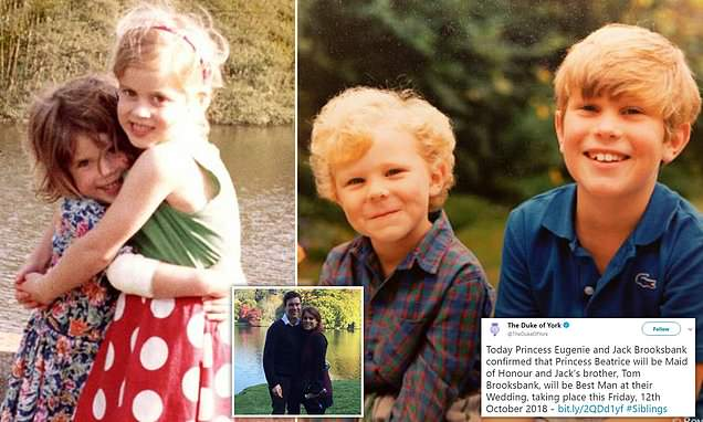 Prince Andrew Shares More Childhood Snaps Of Eugenie And Jack Hot World Report