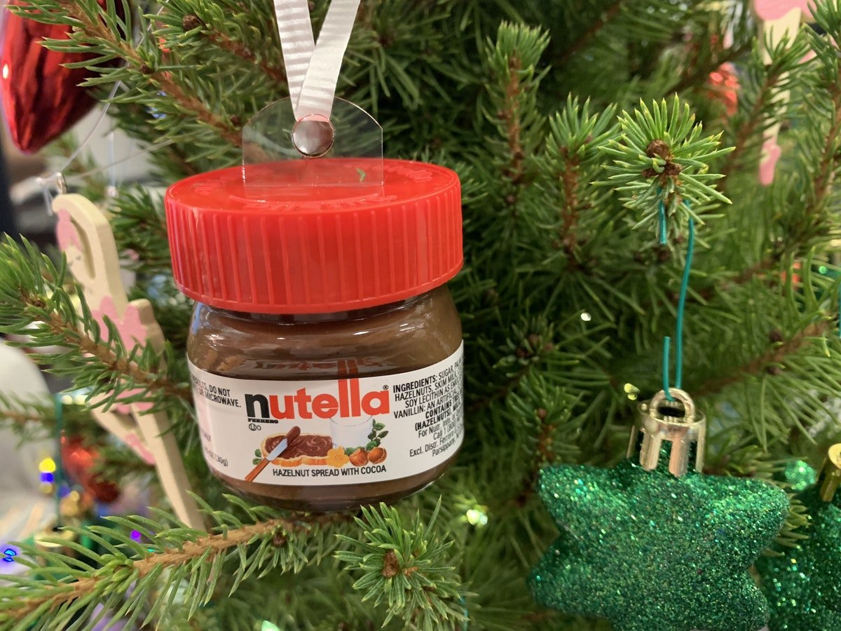 Target Is Selling Mini Nutella Jars That Double As Ornaments - Hot ...