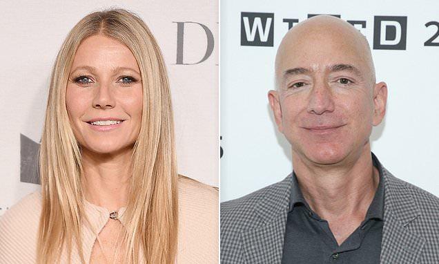 Gwyneth Paltrow Reveals Amazon Founder Jeff Bezos Won T Return Email