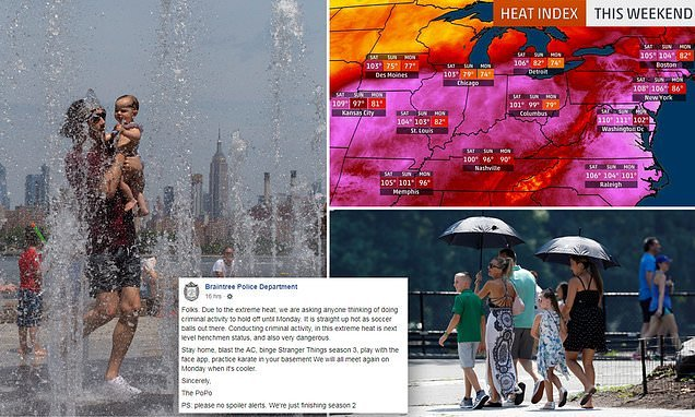 Heat wave death toll rises to six amid 100 degree temperatures - Hot