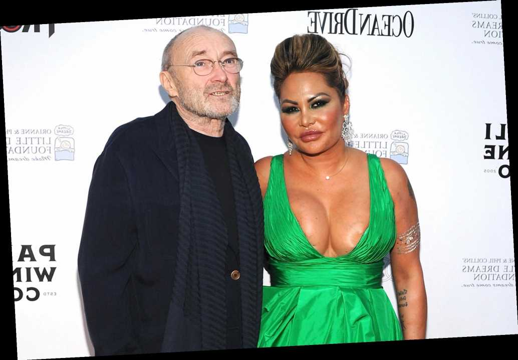 Phil Collins Sues Ex Wife Orianne After She Allegedly Refused To Move Out Hot World Report Orianne cevey happens to be my hero today. phil collins sues ex wife orianne after